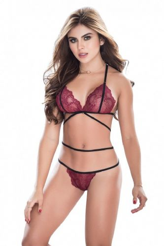 Bra and Thong Set (Mapale 8251 DS)
